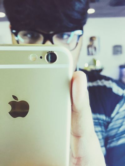 IPhone 6 Gold Photography That's Me New Picture Love Mirror Selfies Selfiee