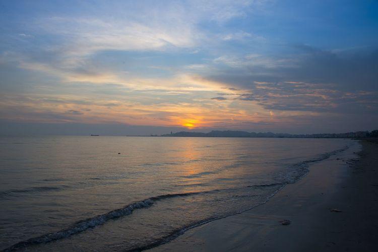 Albania Albanian ALBANIA❤️ Albanien, Beach Beach Photography Durres Albania Ocean Sunset Sunset_collection