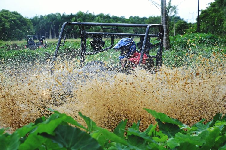 Big Foot Adventure First Eyeem Photo buggy Buggy Mud Fun mauritius Kymco