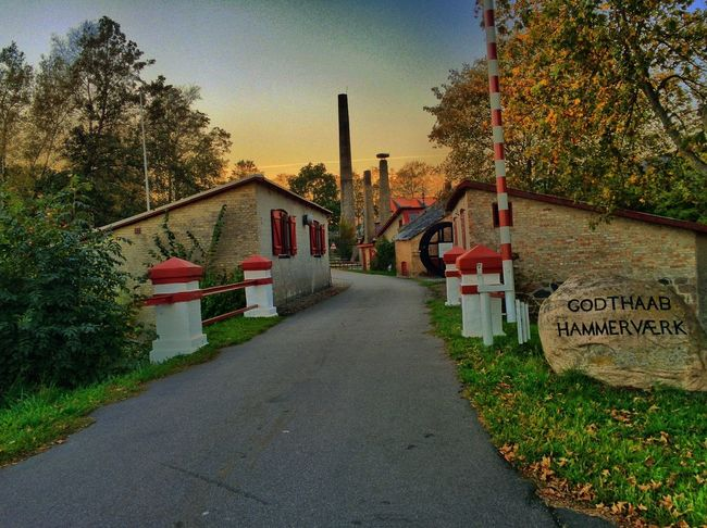The old factory in my little town.. Tadaa Community Museum Old Buildings Danmark