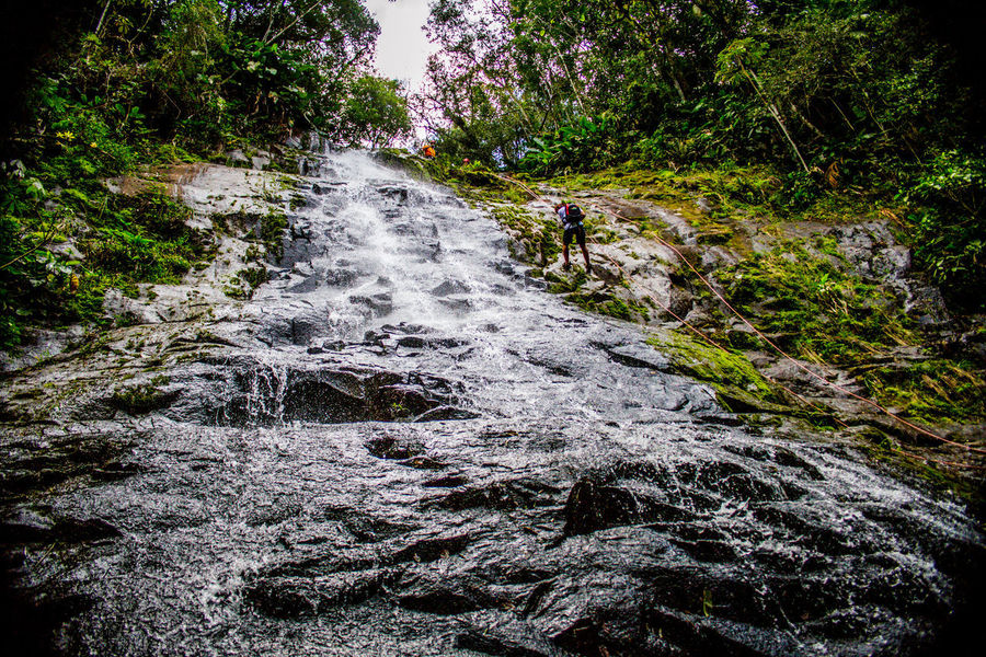 Ecoturismo Meleiro, Brazil Turismo De Aventura Adventure Beauty In Nature Day Ecoturism Forest Motion Nature No People Outdoors River Rock - Object Scenics Sky Tranquil Scene Tranquility Tree Water Waterfall