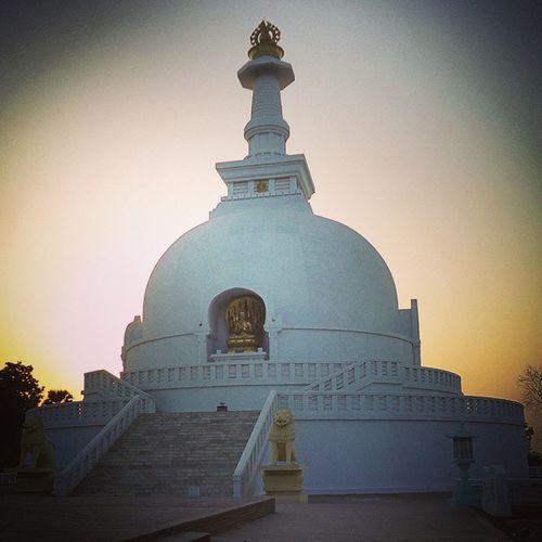 VisvaShantiStupa WorldPeacePagoda Stupa Pagoda Vaishali Bihar InstaPatna InstaIndia