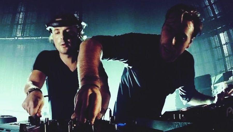 Swedish House Mafia in action!