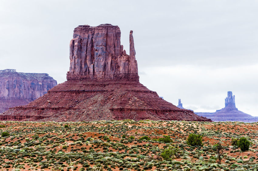 Beauty In Nature Day Geology Landscape Monument Valley Tribal Park Nature No People Outdoors Rock - Object Scenics Sky Tranquility Travel Destinations
