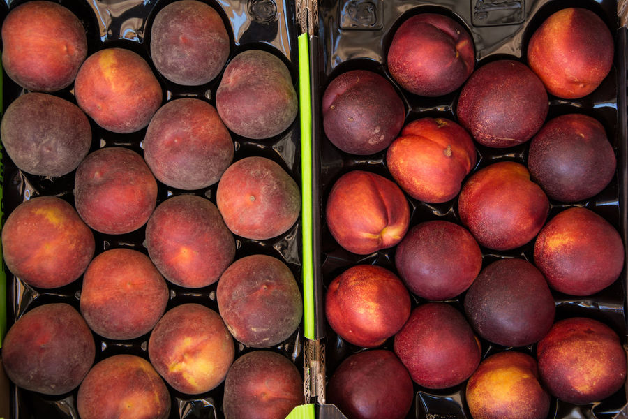 Nectarines Backgrounds Close-up Day Full Frame Nature No People Outdoors Peach