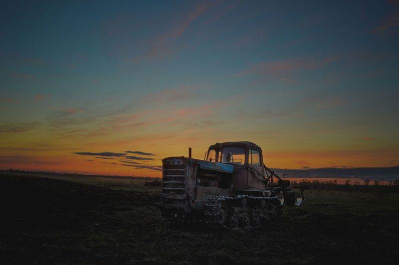 Sunset Nature Sky Outdoors Beauty In Nature дт75 Landscape Landscape Photography