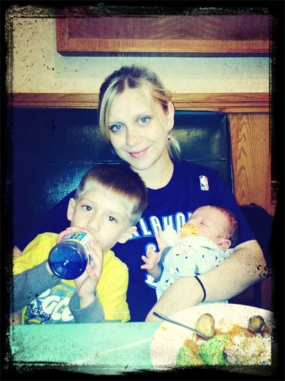 My sister and nephews <3