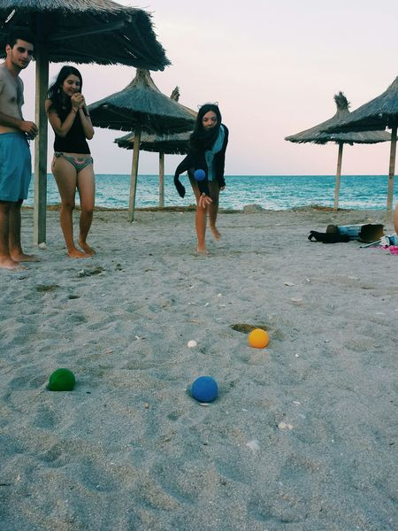 Everyday Lives Summer Sea Petanque