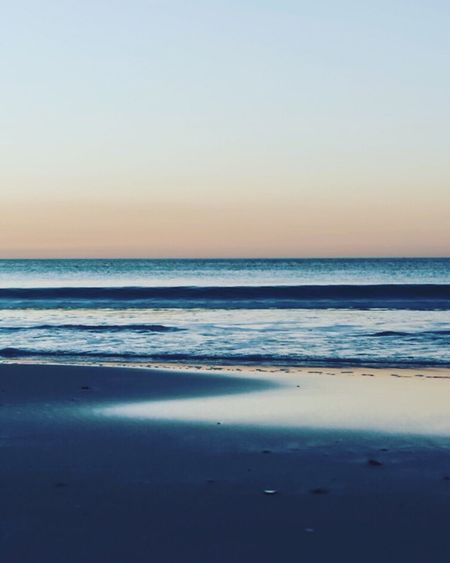 Sea Horizon Over Water Beach Scenics Beauty In Nature Tranquil Scene Nature Tranquility Water Sunset Idyllic Sand Sky No People Clear Sky Outdoors Travel Destinations Wave Vacations Day