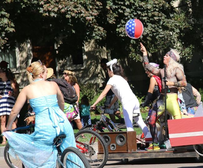 bicycle parade Bicycle Parade Tourdefat New Belgium Bicycle Parade Costume