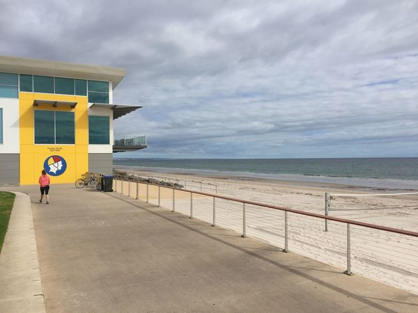 Adelaide Beachfront Surf Lifesaving Club Clouds And Sky