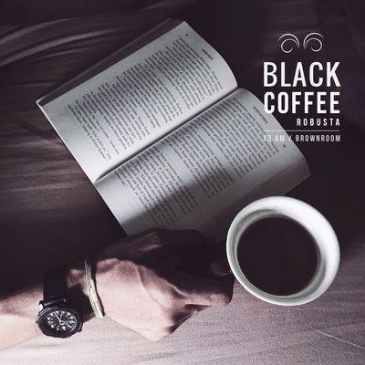 Book and Coffee Coffee Blackcoffe Coffee Time Coffeelover Relaxing Enjoying Life