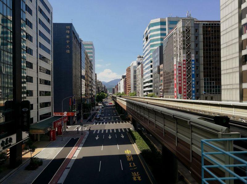quiet streets Taiwan Travel Cityspaces Architecture No People Street Taipei Metro