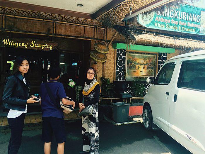 Sangkuriang Restaurant Lunch Bandung, West Java Holiday