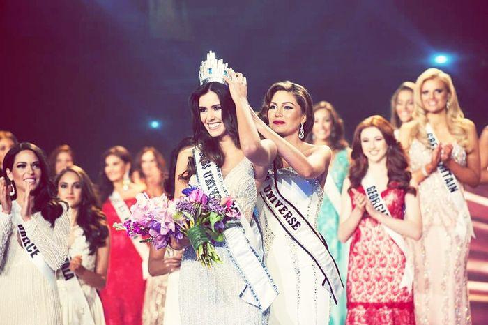 Congratulations Miss Universe Colombia ?? Missuniverse2014 Colombia CONGRATS🎉🎈🎈🎉🎉