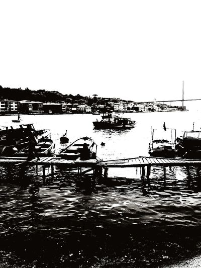 Black Sea. Gettingdark Boat Sea Blackisthecolor Darking Istanbul