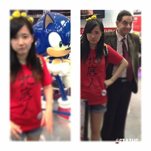 Sonic Mr.Bean Comicon Relaxing