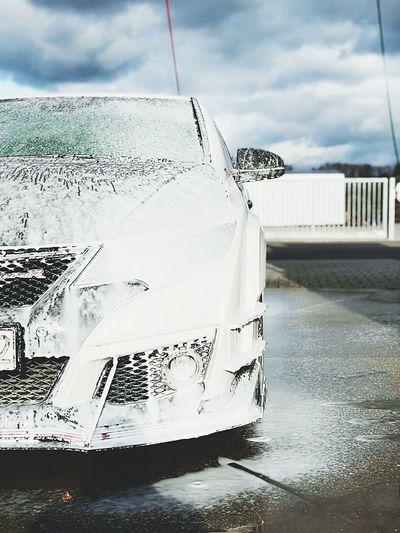 Honda Civic Typer Fk2r Wash Sunday Winter No People Outdoors Germany Kehl first eyeem photo