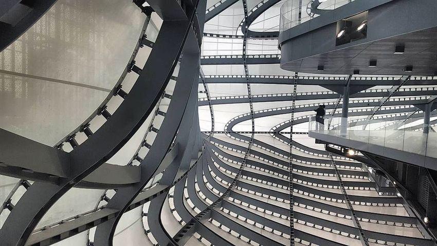 Inside the cloud ☁ Architecture Cloud Fuksas Rome