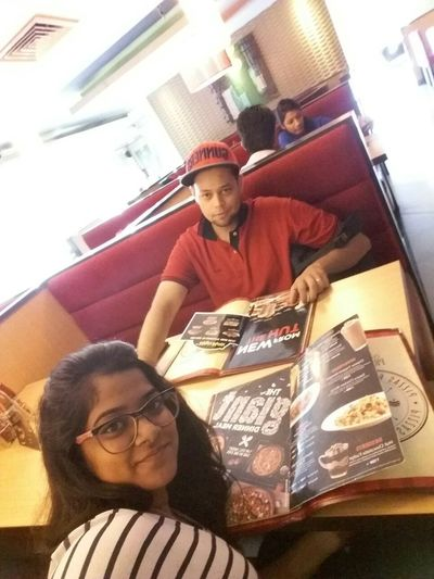 Pizza Hut  Pizzalover Me And My Baby <3 Enjoying A Meal Enjoying Life Indore