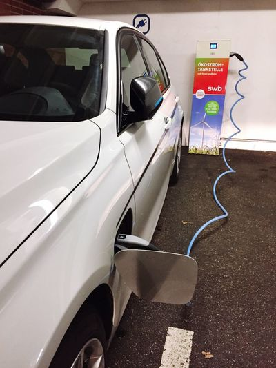 Electro car Transportation Car Gas Station Land Vehicle Electro Car Electro Station Loading Tanking Mobility Ecology