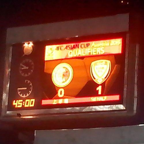上半場港隊穩守下僅負一球,下半場加油! HongKong UAE Asiancup2015