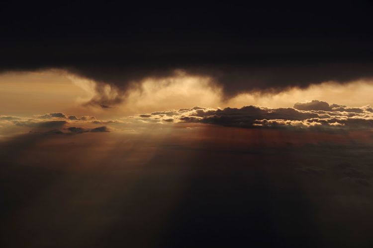 somewhere in between Rome and Vienna View From Above Ways Of Seeing Rays Of Light Cloud - Sky Cloud Clouds And Sky Clouds Nature Contrast Light Power In Nature Sunset Sea Thunderstorm Storm Cloud Dramatic Sky Natural Phenomenon Extreme Weather Hurricane - Storm Cyclone Natural Disaster Satellite View Horizon Over Water Sky Only The Still Life Photographer - 2018 EyeEm Awards The Great Outdoors - 2018 EyeEm Awards The Traveler - 2018 EyeEm Awards