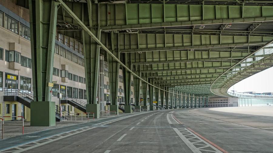 Bridge at airport