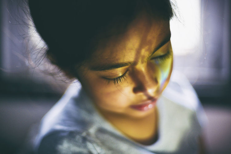 Children Colours EyeEm Gallery EyeEmNewHere Fine Art Photography Close-up Conceptual Light And Shadow Portrait Rainbow Softness