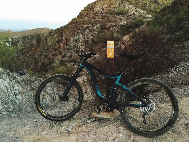 Morning ride Bike Trail Ride Arizona