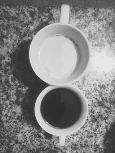 This is the difference. Black & White Coffee Time Shades Of Grey