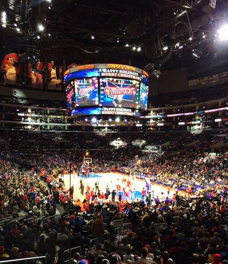 Clippers game Check This Out Sports Photography Game Hello World Los Angeles, California Basketball Basketball Game Fun Having Fun Enjoying Life One Wild Night EyeEm Best Shots Basketball ❤ Basketball Is Life Games Clippers Game California California Love