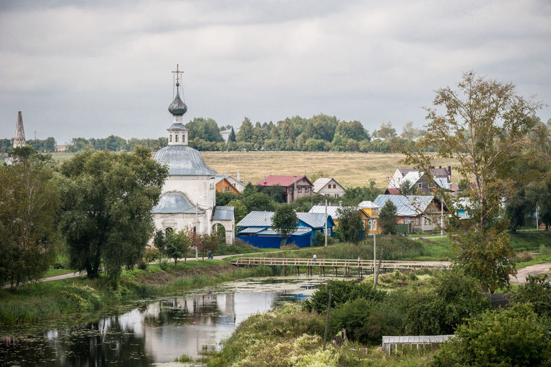 View Of Rural Town