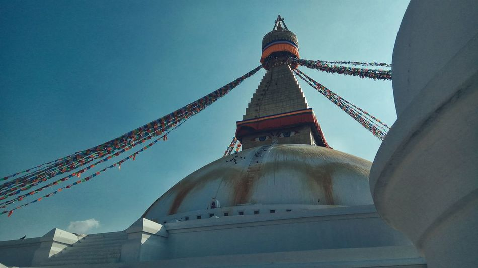 Boudhanath Stupa Architecture Built Structure Religion Travel Destinations World Heritage Site By UNESCO PhonePhotography EyeEm Selects EyeEmNewHere