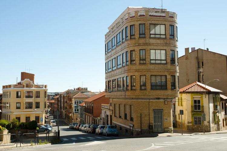 SPAIN Architecture Astorga Buildings Built Structure City Street Town