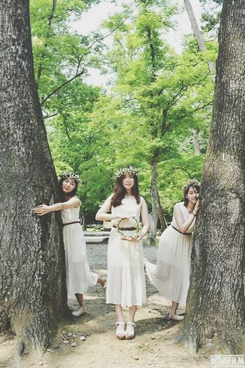 Tree Hugger Elf Photoshoot Model thanks for nice pic:) tree hug performance.me in the middle.