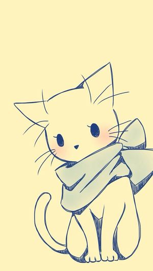 Fond ecran Cat Wellow