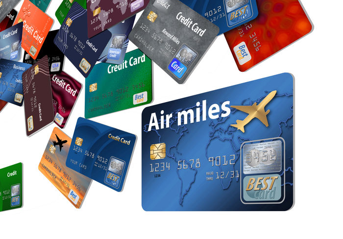 Here are air reward credit cards that seem to be floating in air. Travel Air Miles Air Rewards Airline Credit Card Airline Rewards Credit Card Floating On Water Flying miles away Points