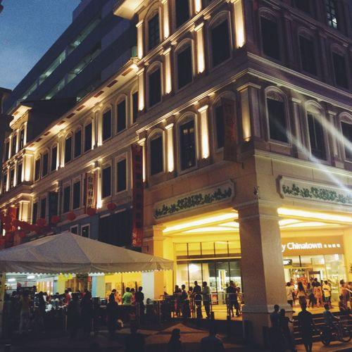 Chinatown Night Manila