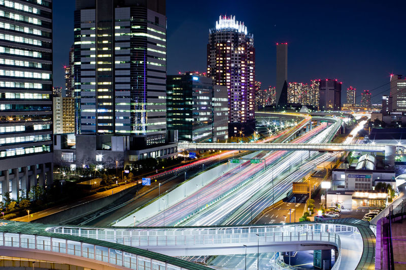 Architecture City Building Exterior Illuminated Built Structure Night Motion Transportation Long Exposure Office Building Exterior Light Trail Building City Life Street Speed Skyscraper Road Cityscape Blurred Motion Modern No People Outdoors Financial District  Odaiba Highway Highwayphotography Tokyo Tokyo Night Tokyo,Japan Japan Japan Photography Tokyo Night City View Pentax