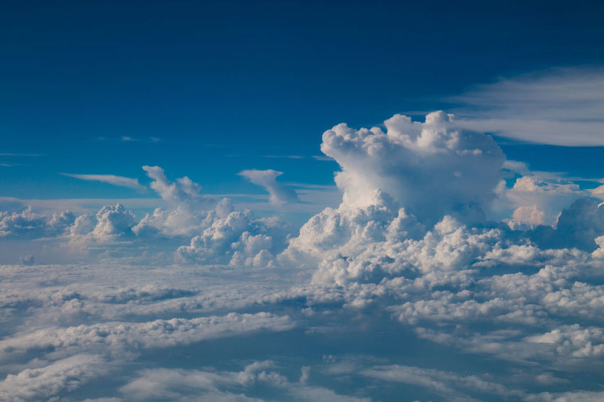 Cloud Cloudscape Flying High Beauty In Nature Blue Cloud - Sky Clouds Flight Nature Sky Tranquility