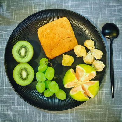 【❤️】今天突然就降温了!风吹得真凉快😬 春子私房菜 一个人生活 手机摄影 美食 早餐