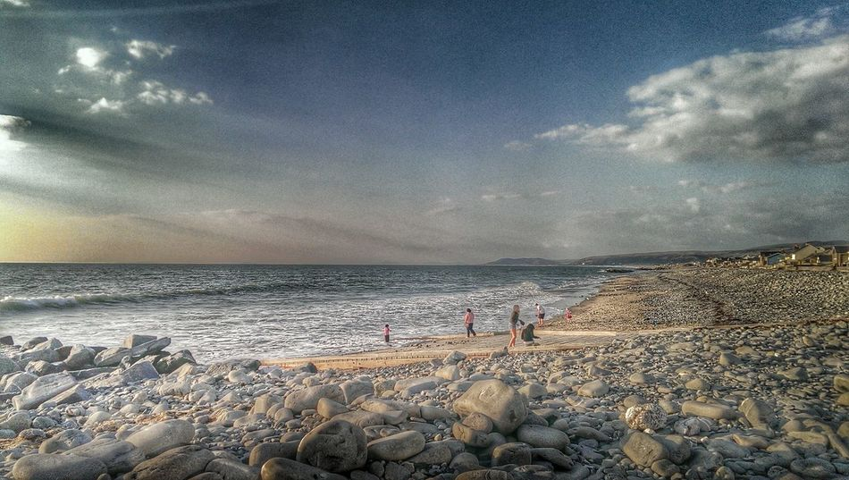Beach Photography Hdr Collections HTC One Borth, Wales The KIOMI Collection