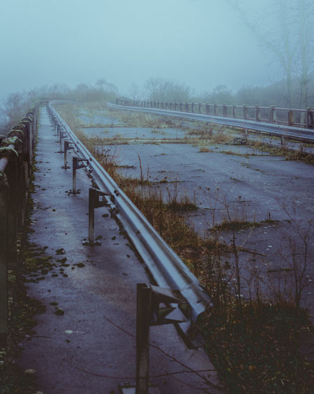 When the nature takes it back #Morning #Nature  #autumn #bridge #fall #fog #haze #melancholy #postapocalyptic #urban #urbanphotography