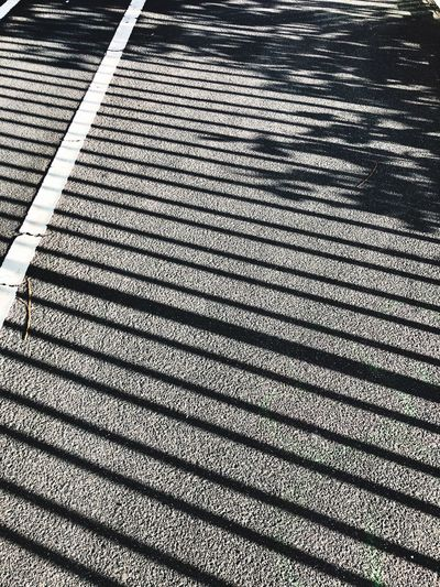 Pattern High Angle View Day Outdoors No People Sun Sunlight Shadows & Lights Shadow Stripes Pattern Black And White Friday