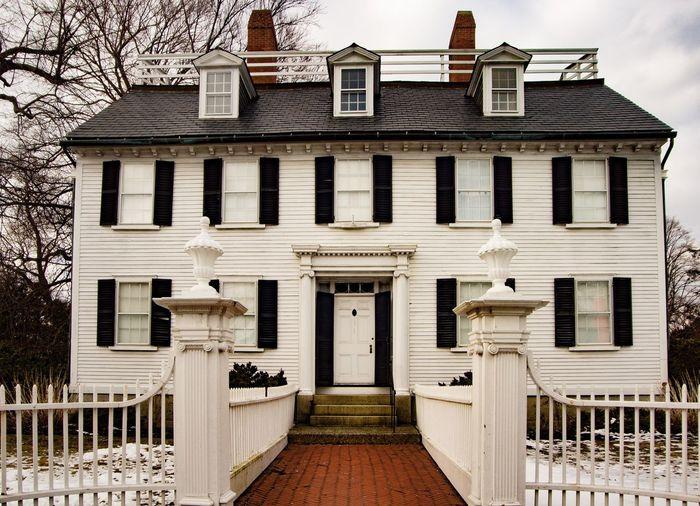Mansion Federal Style Architecture Salem, Massachusetts Architecture Building Exterior Built Structure Building Entrance No People Door