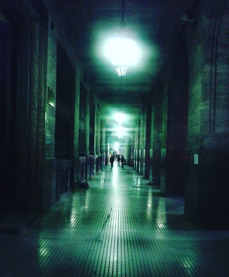 City of lights IlluminatedBuenos Aires Mágica Buenos Aires Argentina City In A Row Indoors  Architecture Built Structure Full Length People Day