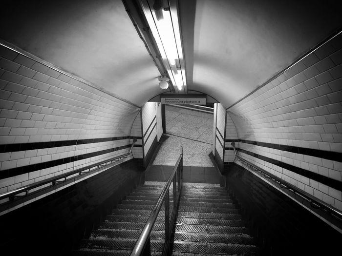 London Underground Staircase