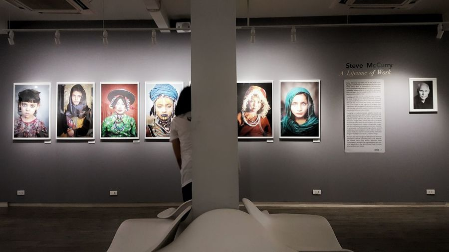 Window Arts Culture And Entertainment Picture Frame Indoors  House Of Lucie Steve Mccurry Steve McCurry🎎 Steve McCurry Bangkok Photography Exhibition A Lifetime Of Work Portrait