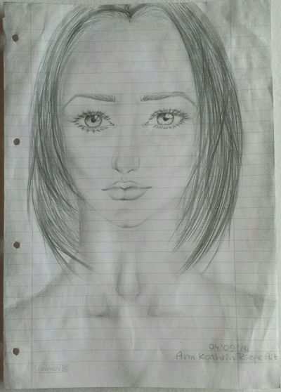 Drawing Art Girl Getting Inspired